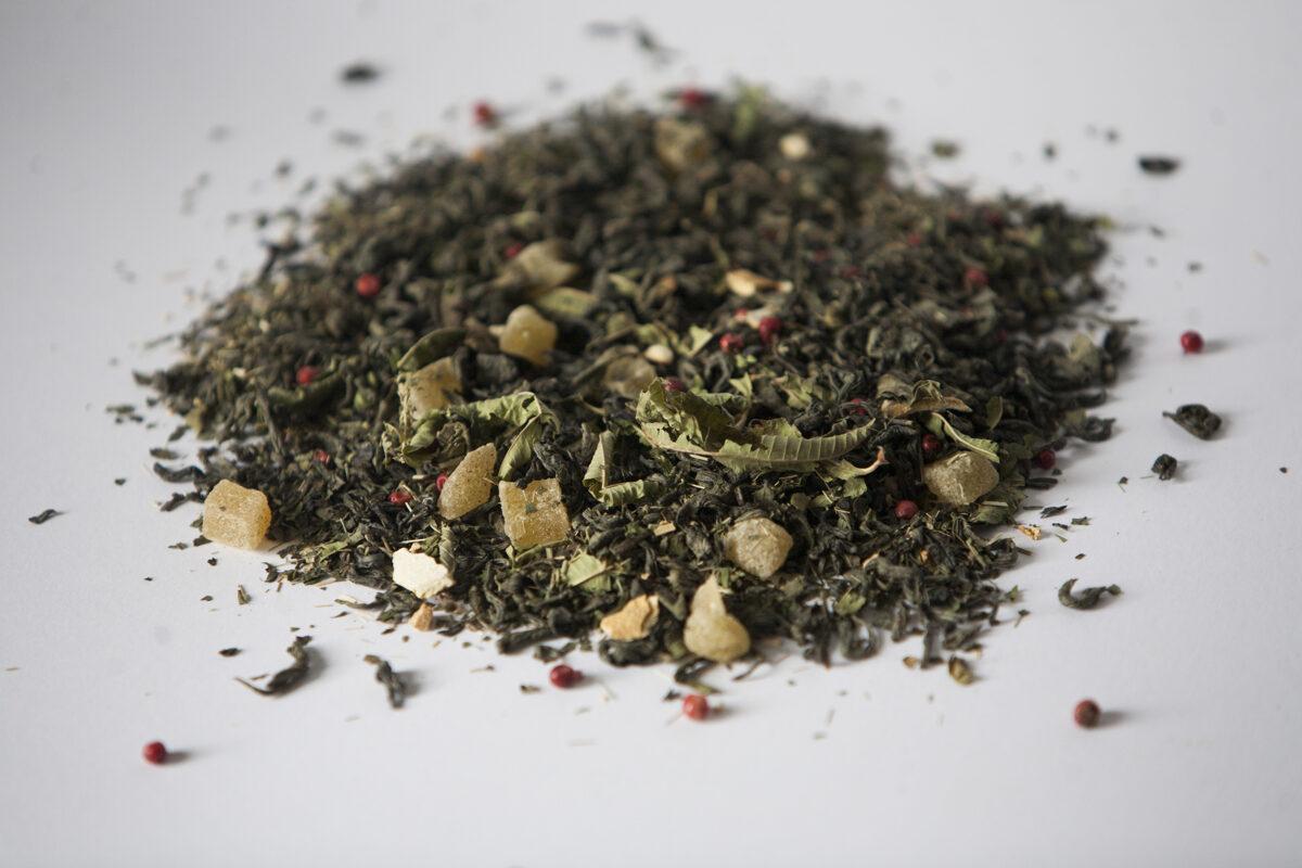 """""""Spirgti zaļā"""" tēja 50g"""
